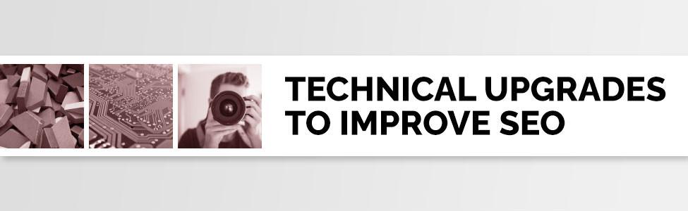 Technical upgrades to improve SEO.
