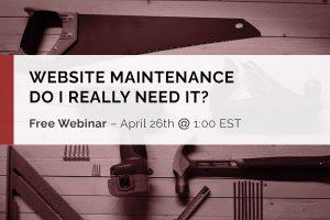 Do I need Website Maintenance?